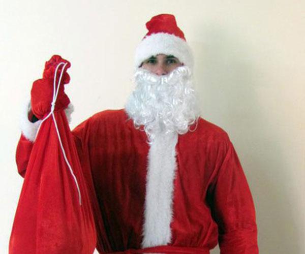 Костюм Деда Мороза Простой.