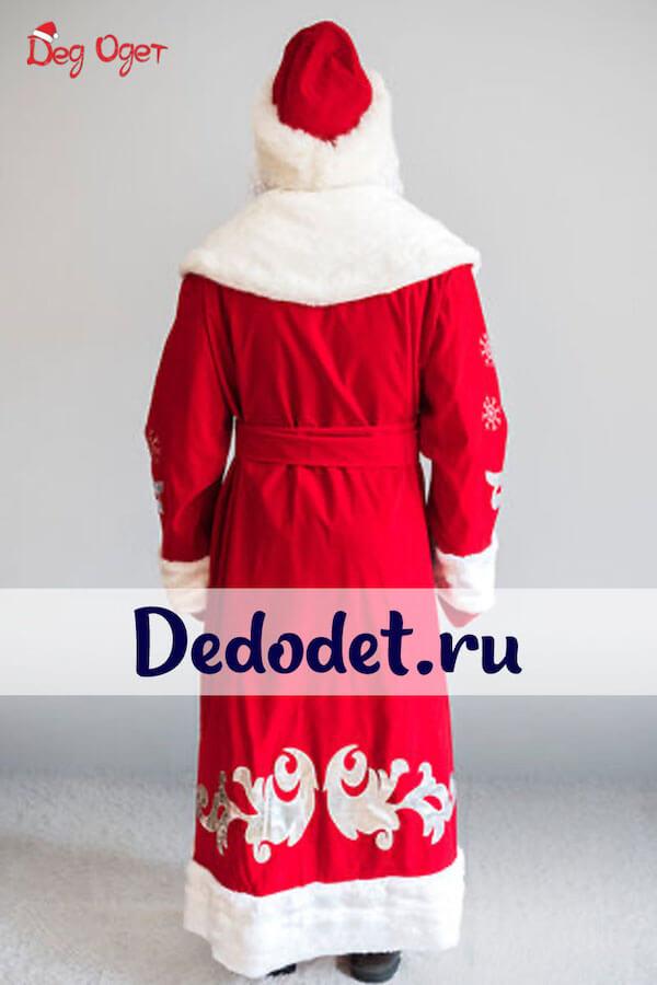 Костюм Деда Мороза Боярский Люкс 3