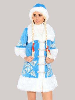 Костюм Снегурочки Вышивка