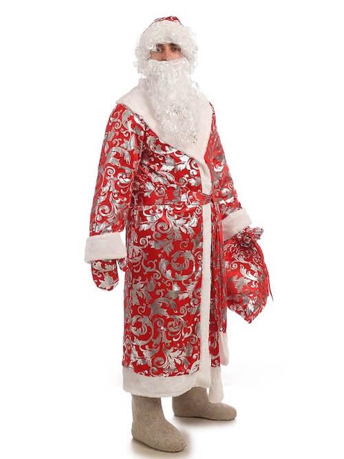 Костюм Деда Мороза Блестящий 2