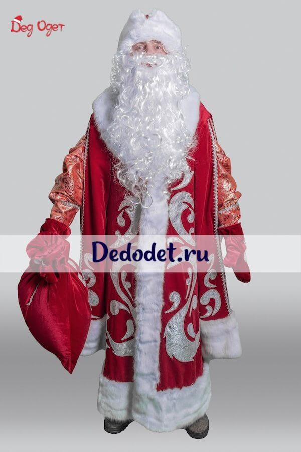 Костюм Деда Мороза Богатый 1