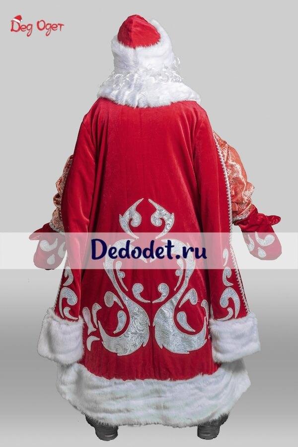 Костюм Деда Мороза Богатый 3